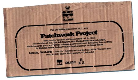 play presents: patchwork project